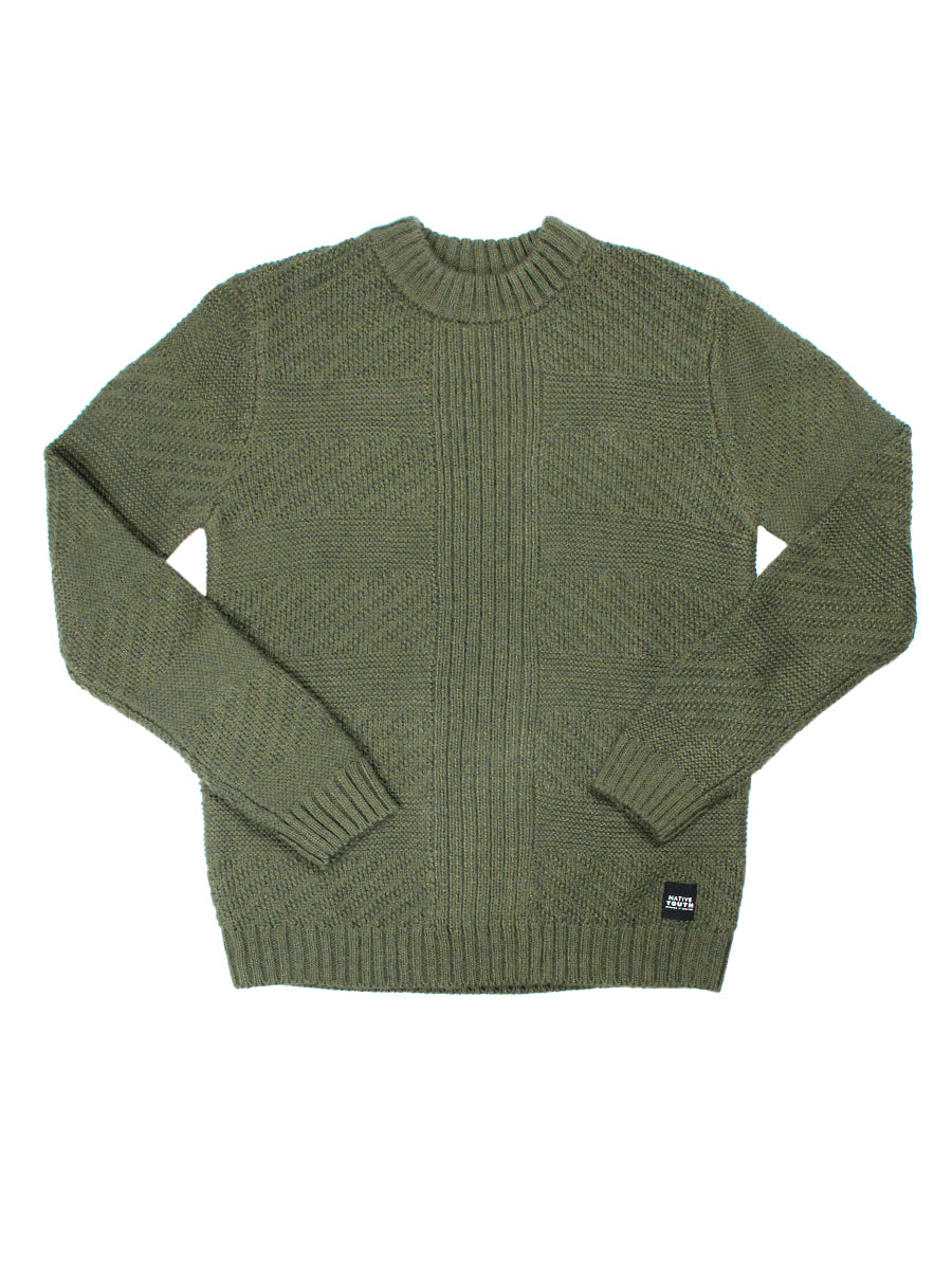 Kory Knitted Sweater - Khaki