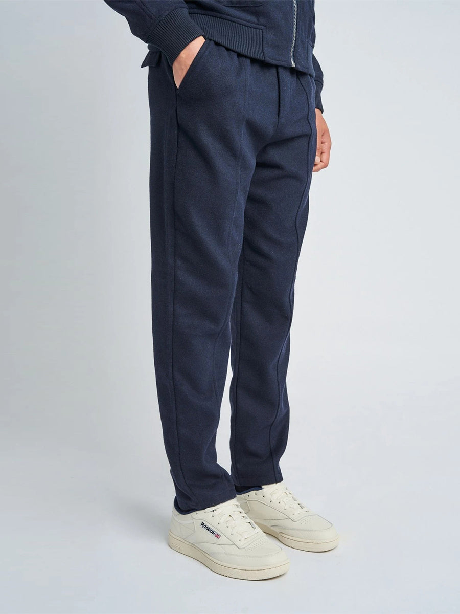 Luther Wool Pant - Navy