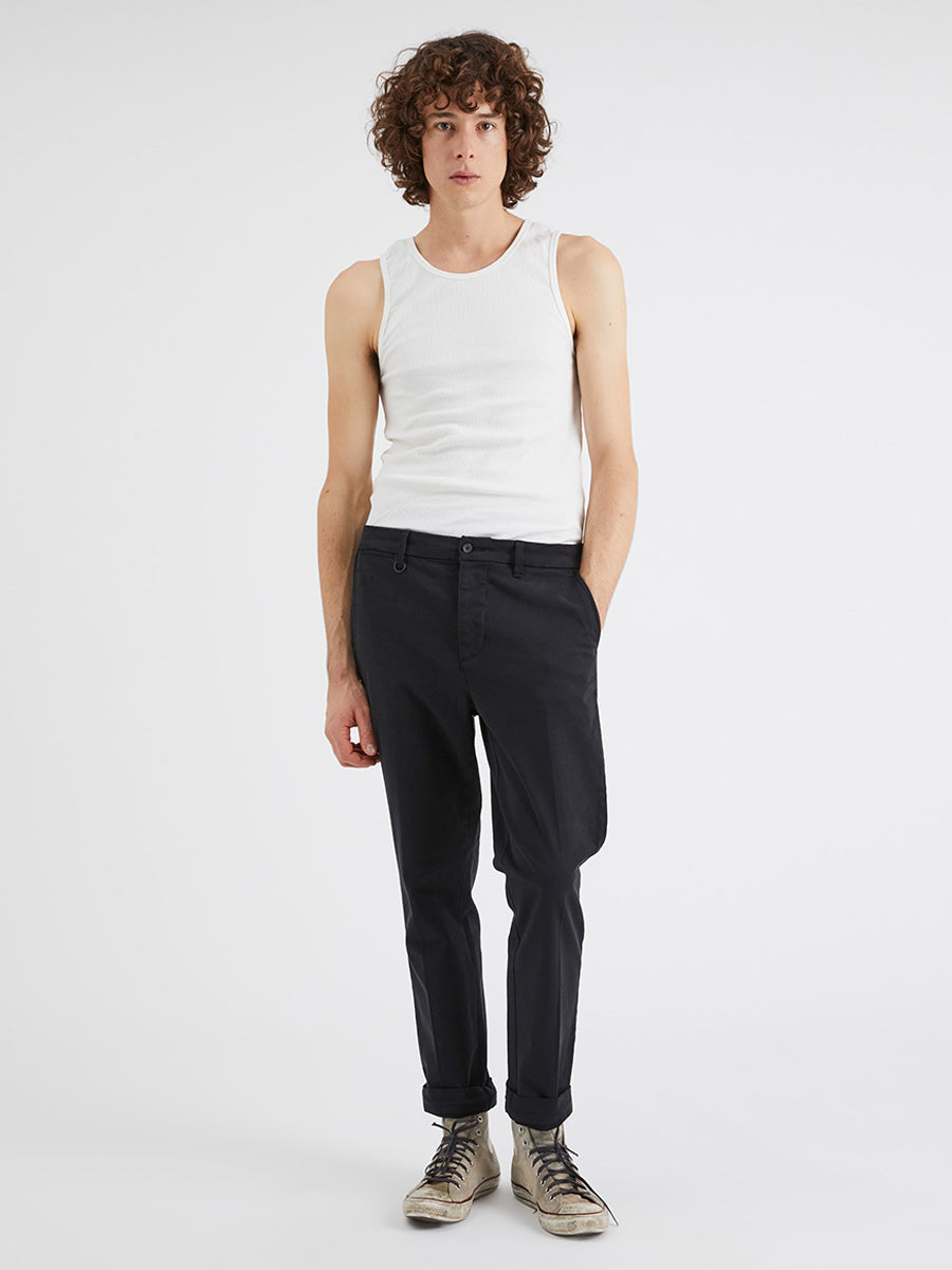 Studio Pant - Washed Black