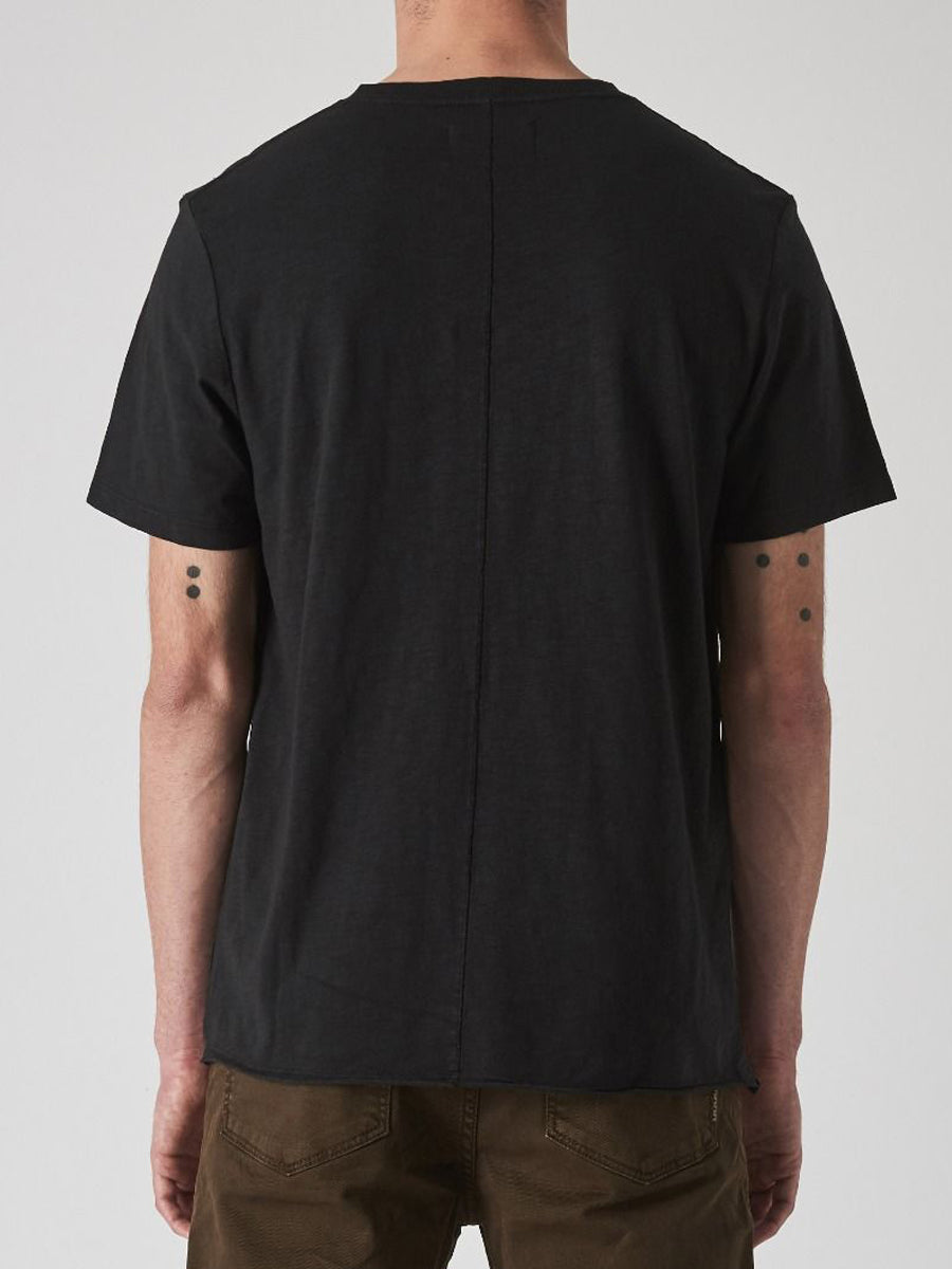 Bass Slub Tee - Black