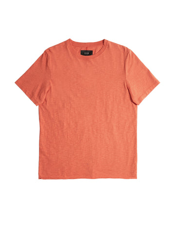 Bass Slub Tee - Orange