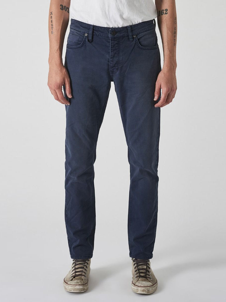 Lou Slim Denim - Twill Navy