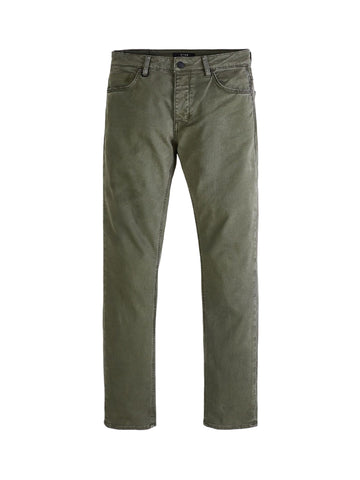 Lou Slim Twill - Pale Military