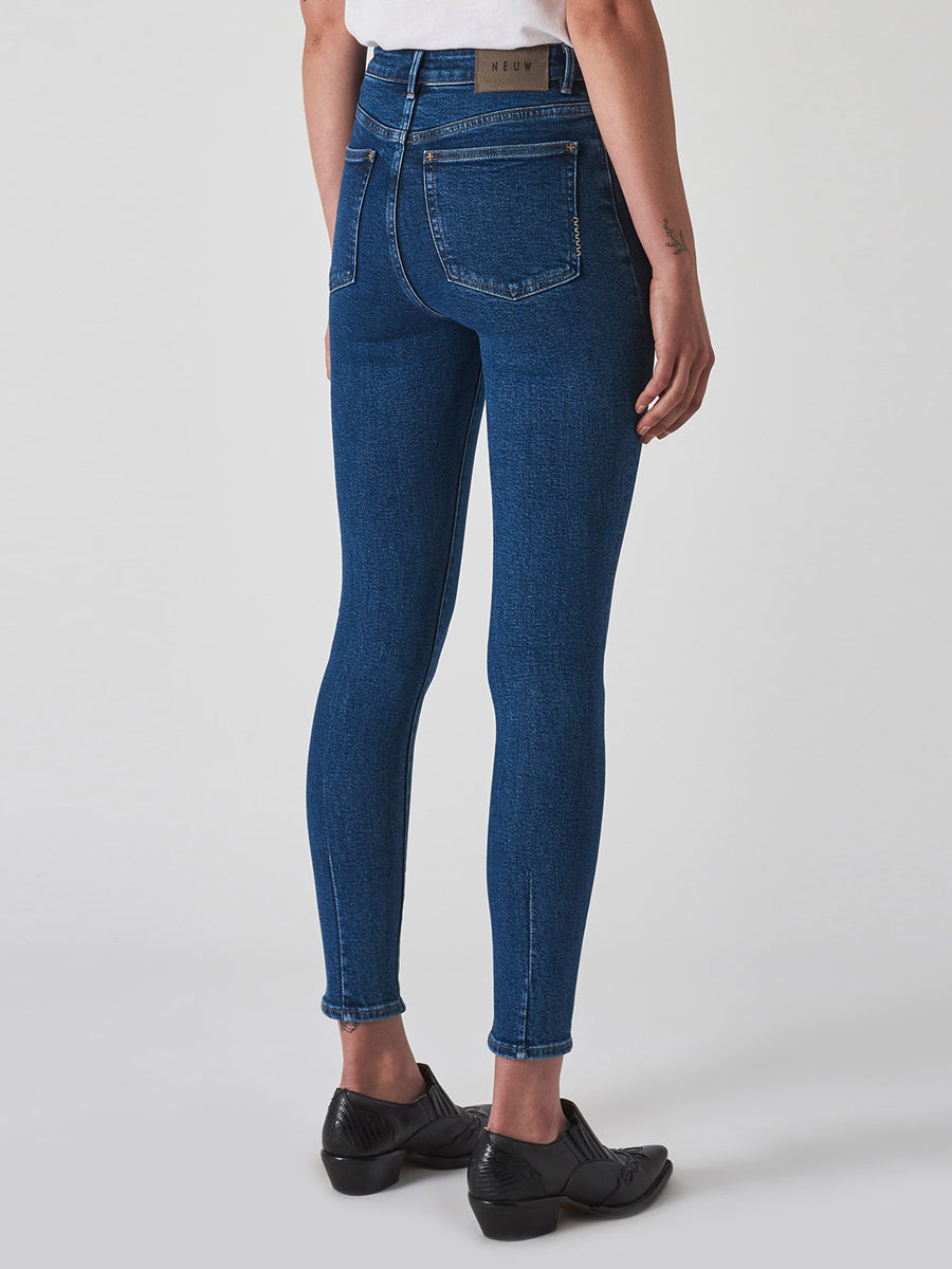 Marilyn High-Rise Skinny Jean - Avenue Blue