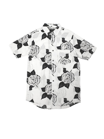 Rose Short Sleeve Shirt - White