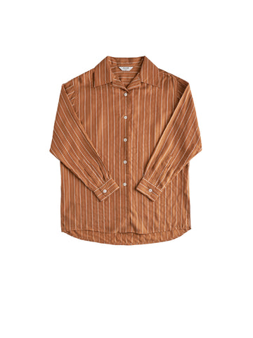Rusty Long Sleeve Shirt - Cognac
