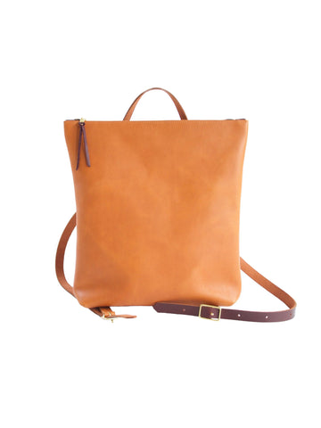 Nico Backpack - Sienna & Cognac