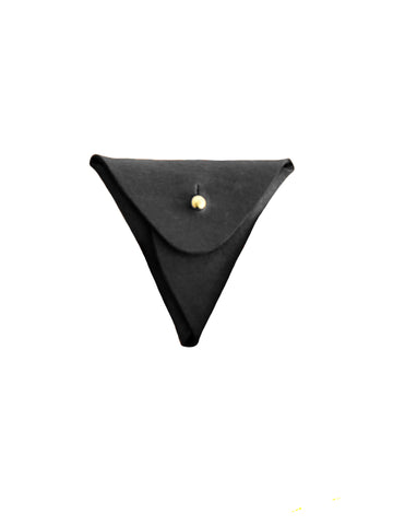 Triangle Pouch - Black