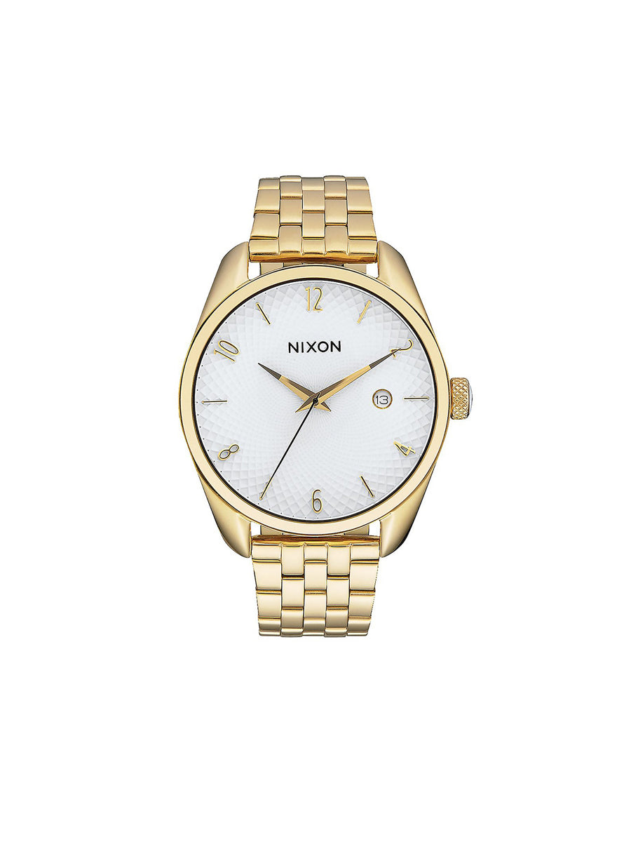 Bullet Watch - Gold & White