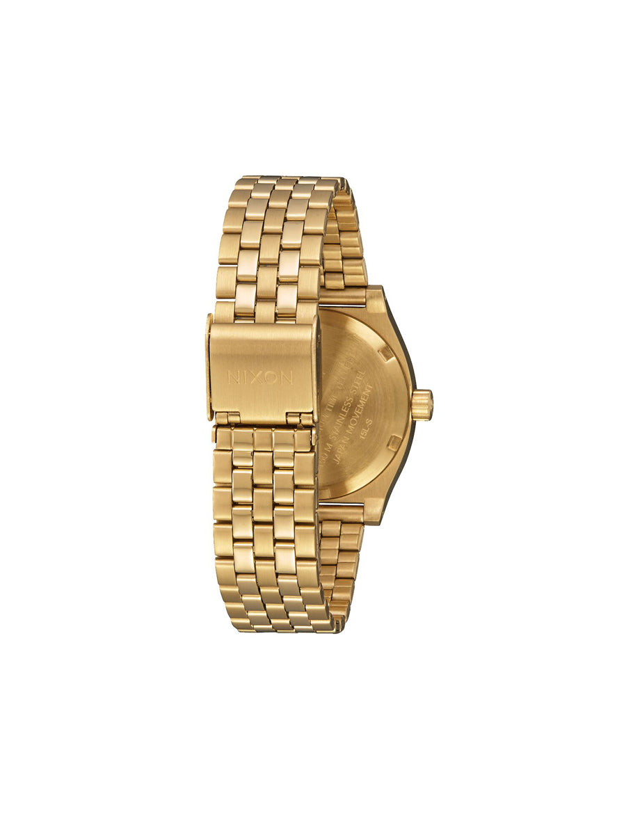 Medium Time Teller Watch - Gold