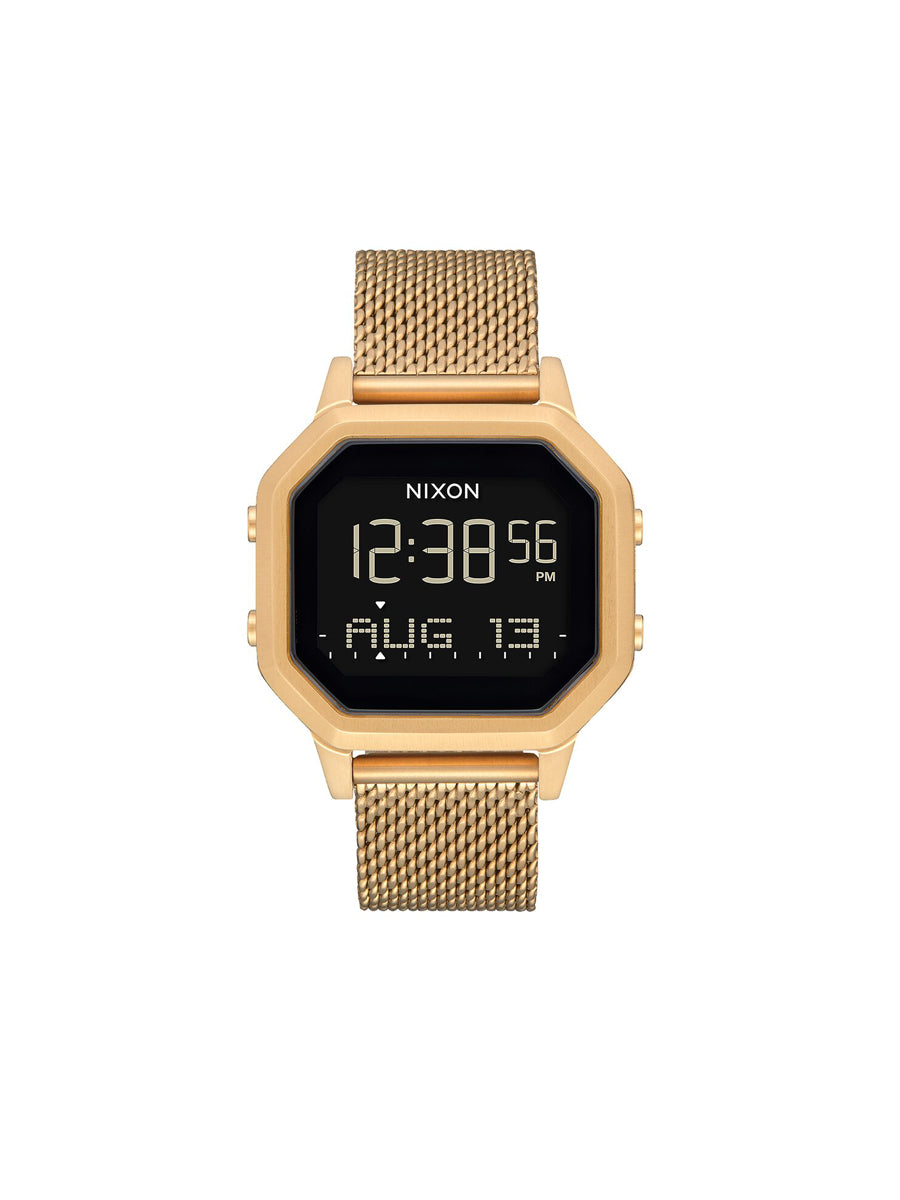 Siren Milanese Watch - All Gold