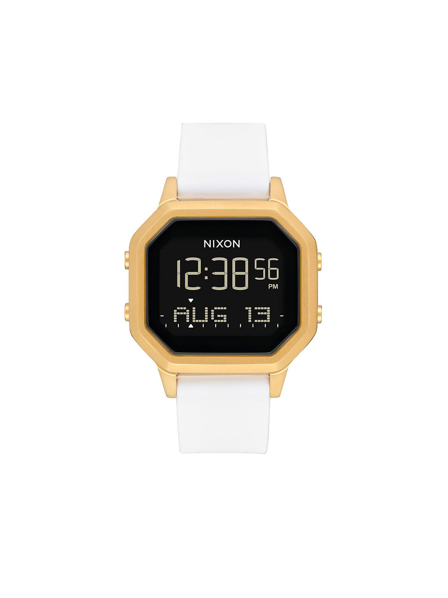 Siren Stainless Steel Watch - Gold & White