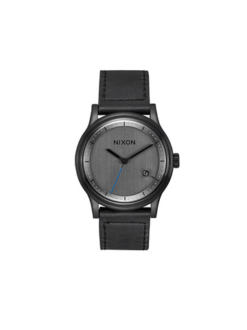 Station Leather Watch - All-Black