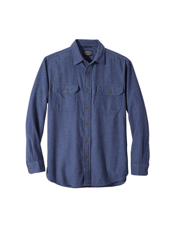 Burnside Flannel Shirt - Blue