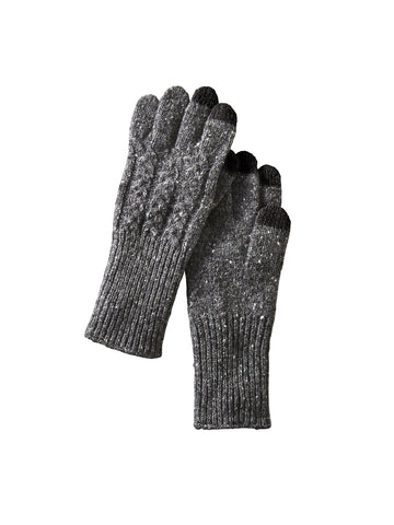 Cable Gloves - Black