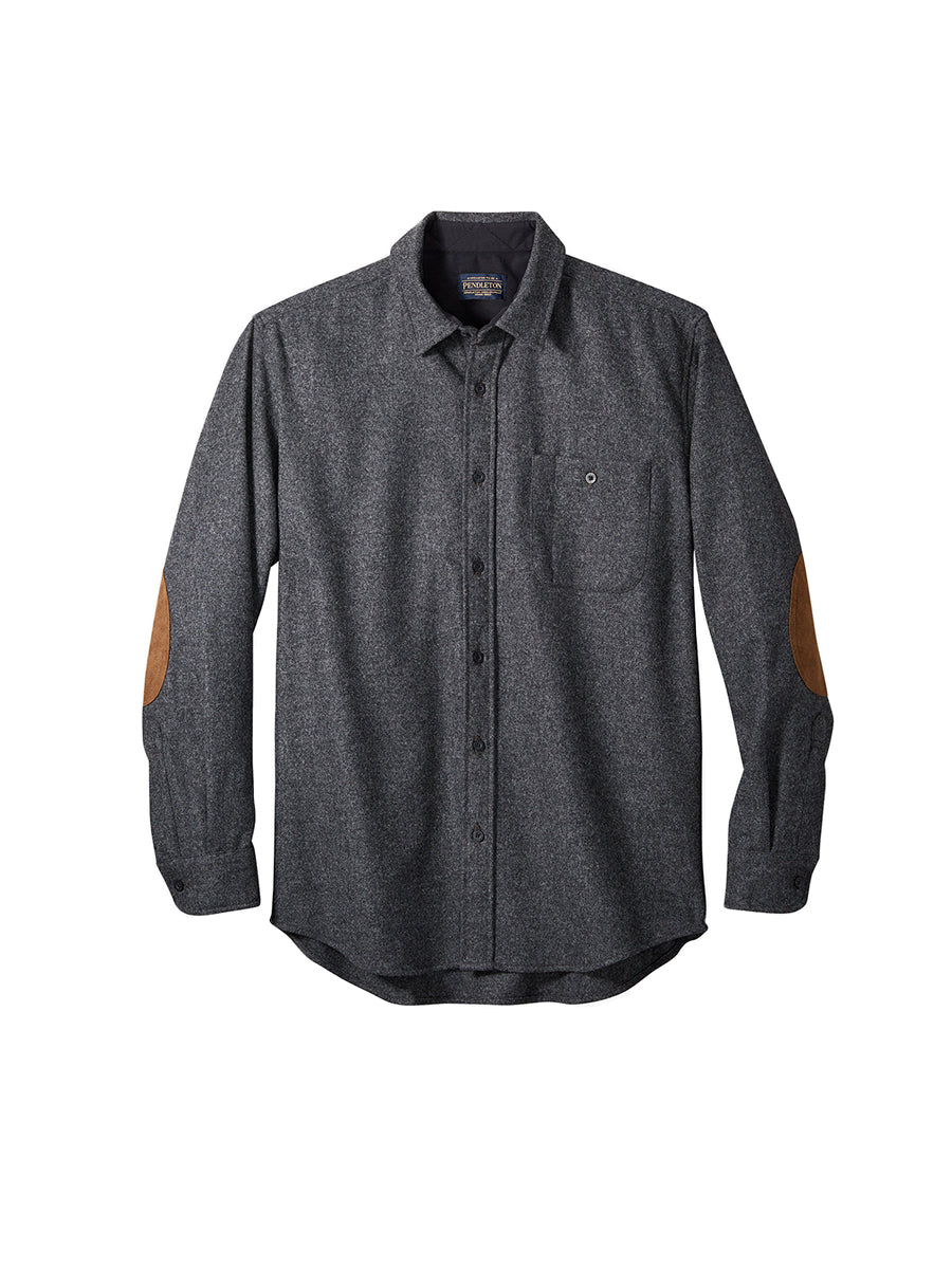 Trail Fitted Shirt - Oxford Grey Mix