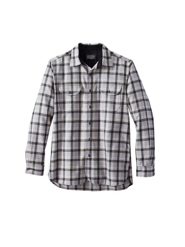 Buckley Shirt - Grey Black Plaid