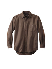 Solid Trail Fitted Shirt - Brown Mix