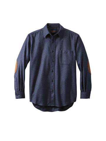 Solid Trail Fitted Shirt - Navy Mix