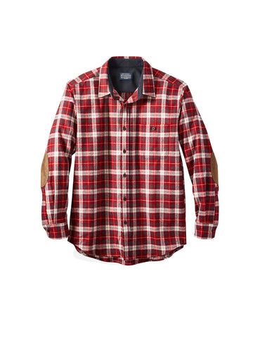Trail Shirt - Red Slate Plaid