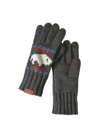 Jacquard Gloves - Big Medicine Charcoal