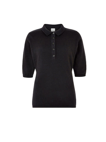 Isla Polo Top - Black
