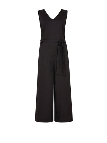 Vesta Jumpsuit - Black