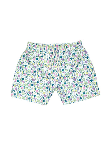 Invisible Waste Swim Shorts - Printed