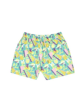 Surf Joy Swim Shorts - Printed