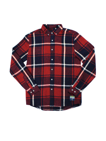 Surfin USA Long Sleeve Shirt - Brick