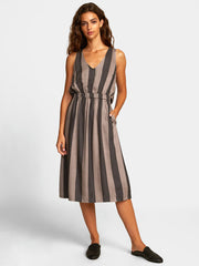 Mocha Dress - Gunmetal