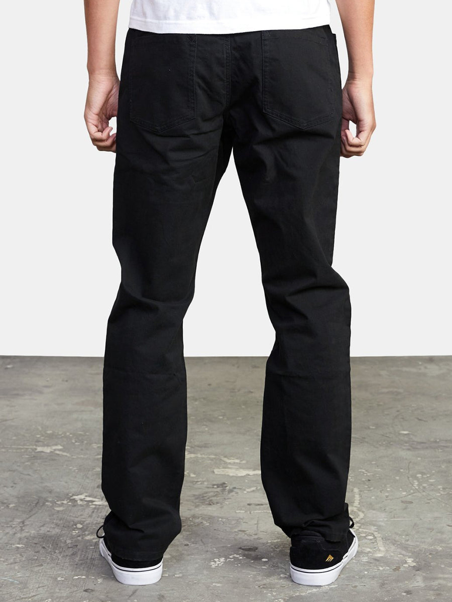 Weekend Twill Stretch Pant - Black