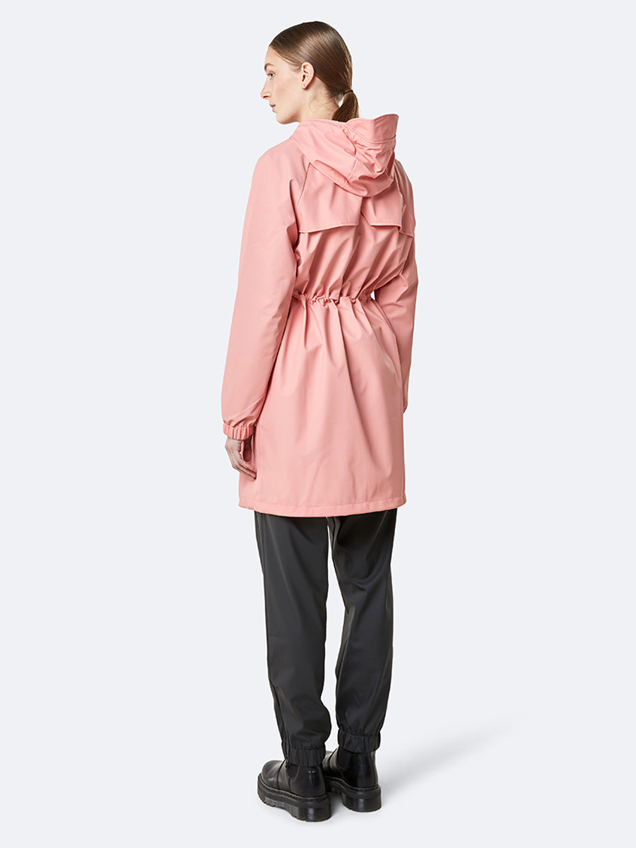 Long W Jacket - Coral