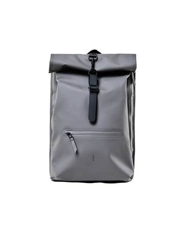Roll Top Rucksack - Charcoal
