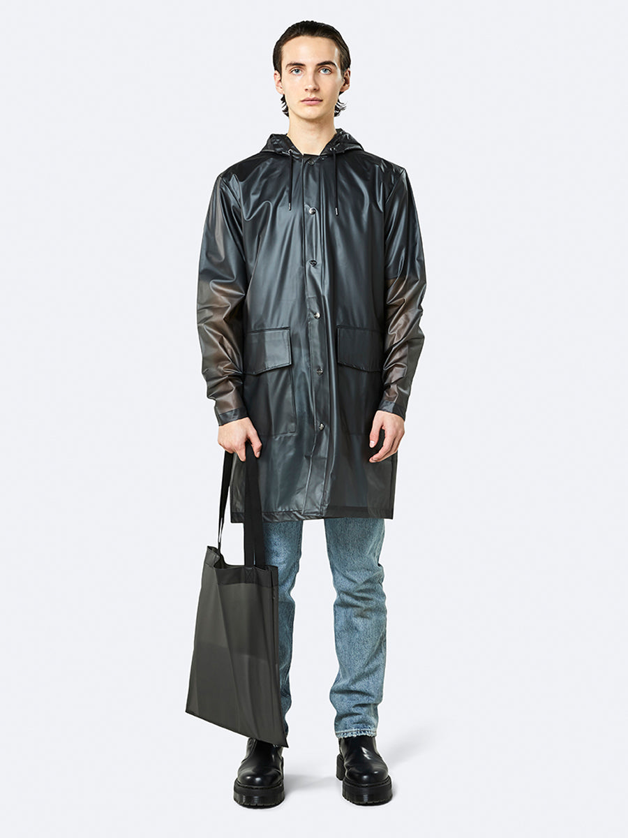 Transparent Shopper - Foggy Black