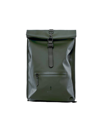 Roll Top Rucksack - Green