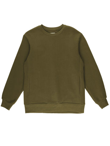 Classic Fleece Crewneck Sweatshirt - Olive