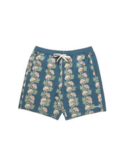 Honolulu Beach Short - Pacific Blue