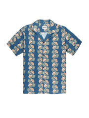 Honolulu Short Sleeve Shirt - Pacific Blue