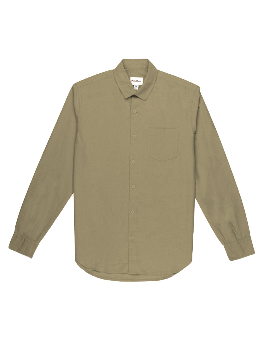 Sunday Long Sleeve Shirt - Sage