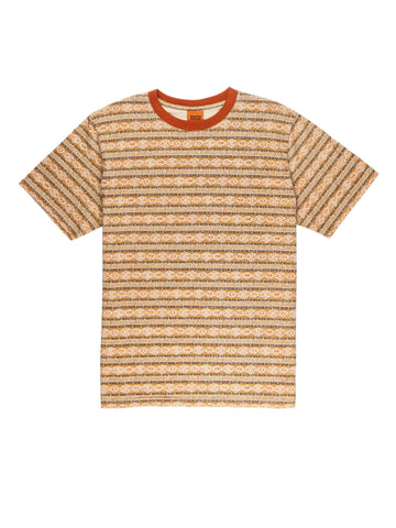Tribe Stripe T-Shirt - Tobacco