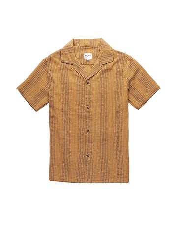 Vacation Stripe Short Sleeve - Vintage Yellow