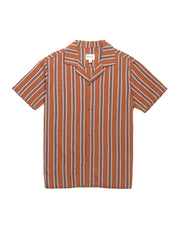 Vacation Stripe Short Sleeve - Almond