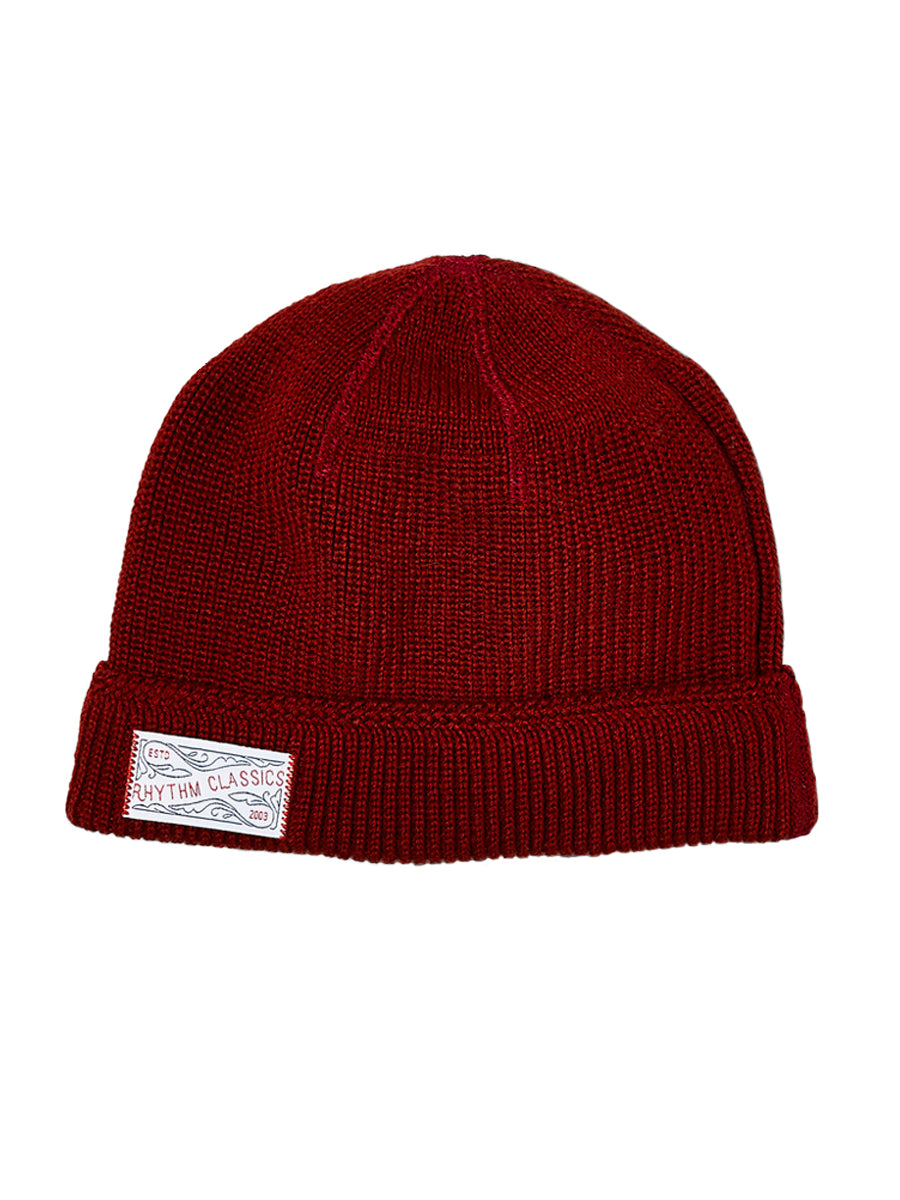 Watch Beanie - Red