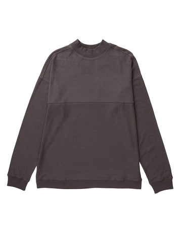 Men's Cozy Knit Long Sleeve Sweater - Bitter Brown