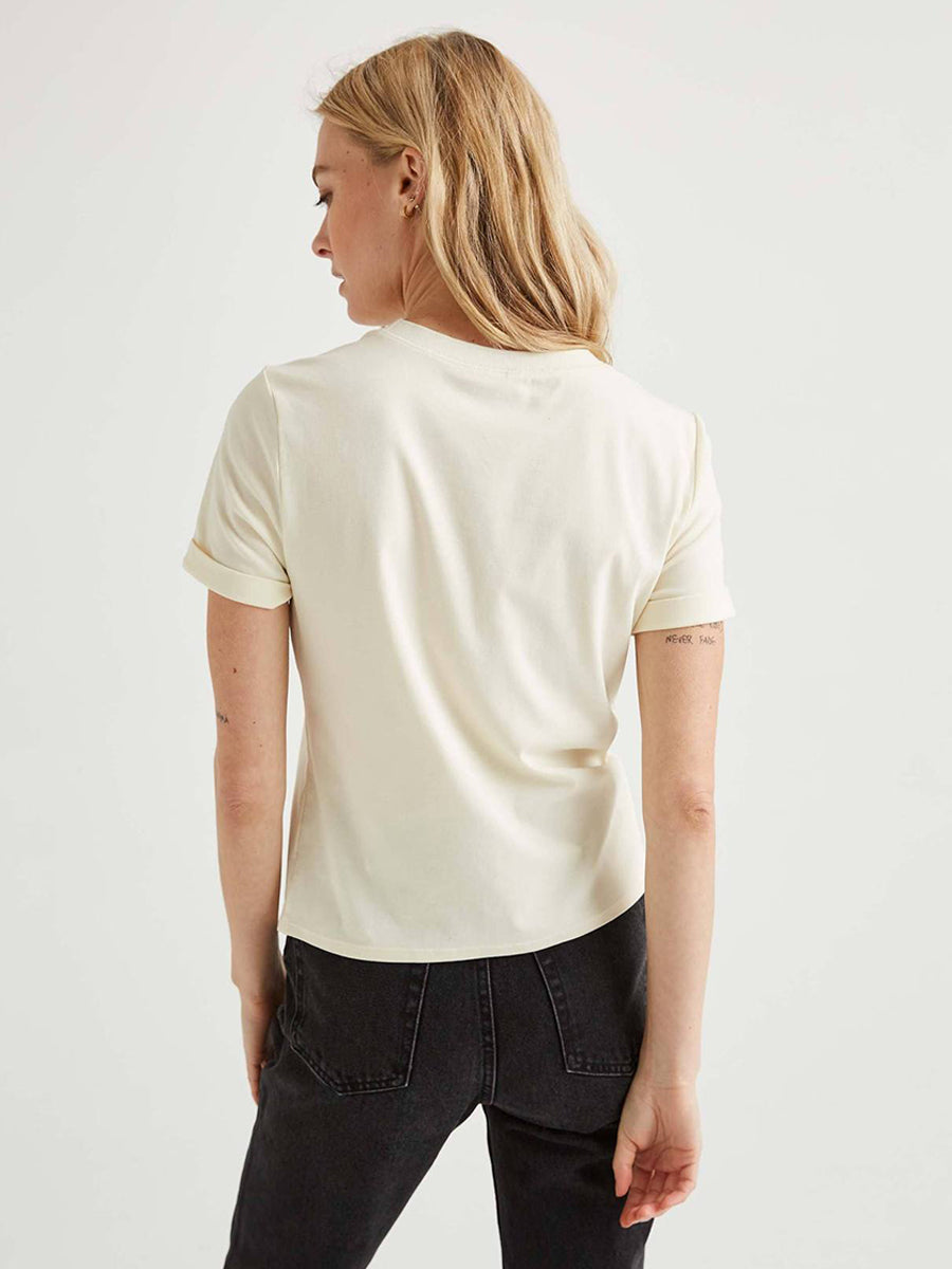 Women's Fitted Tee - White Sage
