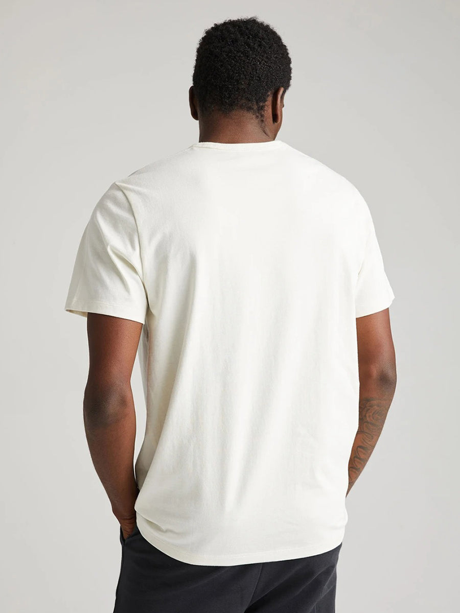 Weighted Cotton Tee - Bone