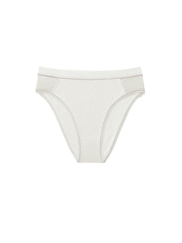 High Cut Brief - Bone
