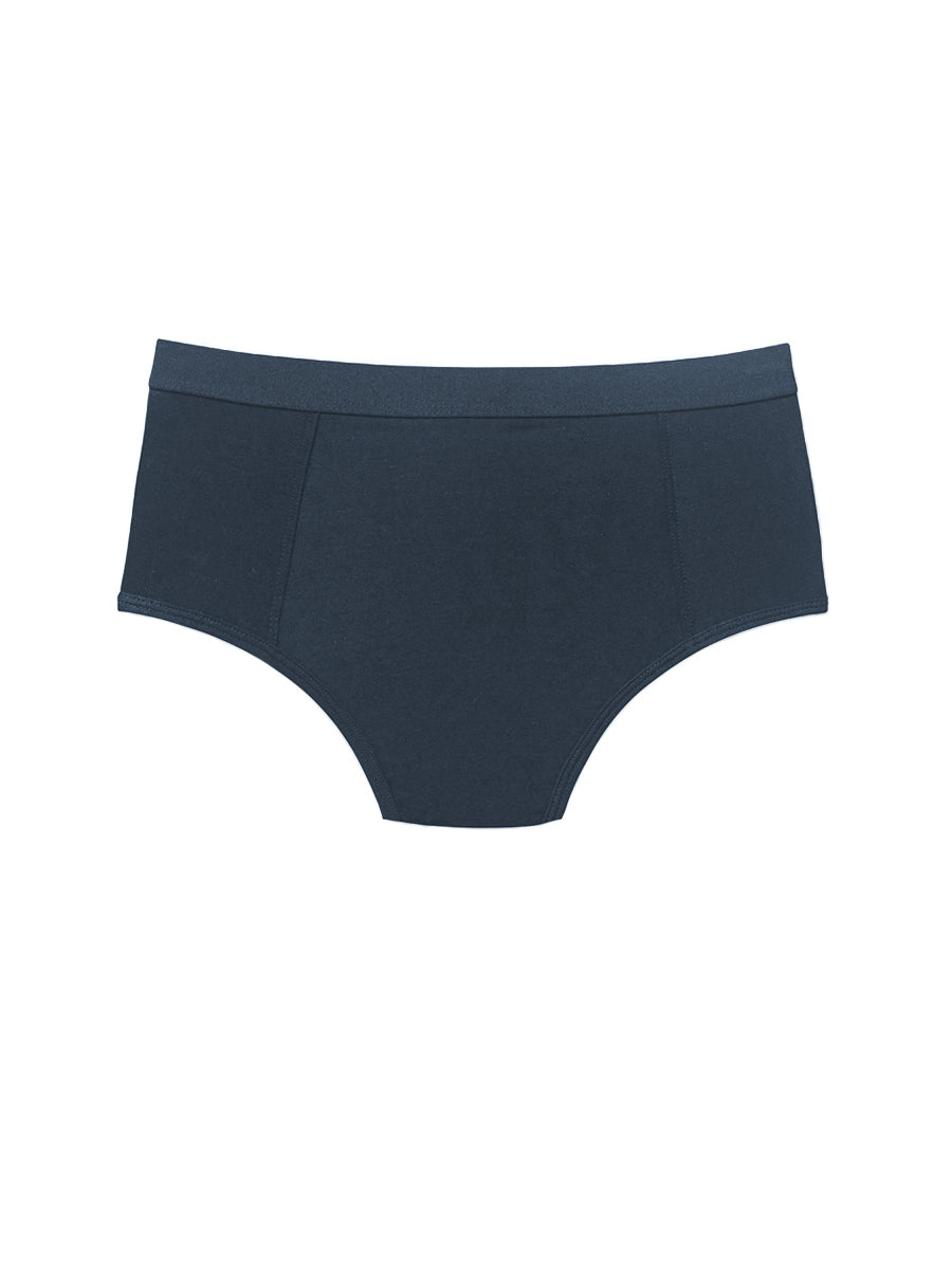 High Waist Brief - Blue Nights