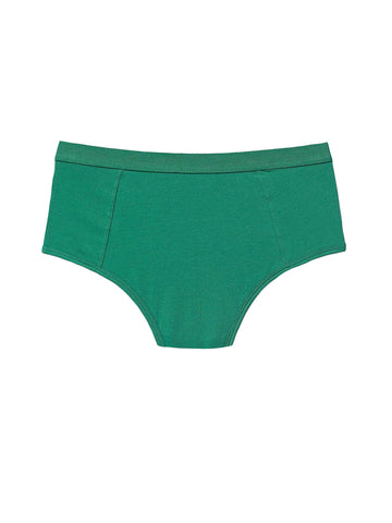 High Waist Brief - Evergreen